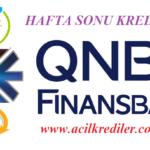 QNB Finansbank Cumartesi Pazar Kredi Başvurusu