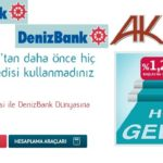 Denizbank'tan Hoş Geldin Faizi ile Hoş Geldin Kredisi Kolay Başvuru