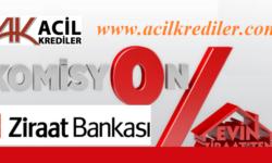 Ziraat Bankası'ndan 100 Bin Lira Komisyonsuz Konut Kredisi Fırsatı