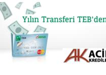 Kredi Kartı Borçlarınızı CEPTETEB'e Taşıyıp Transfer Etmeye Ne Dersiniz ?